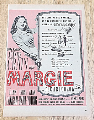 1946 Margie With Jeanne Crain
