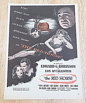 1947 The Red House With Edward G. Robinson