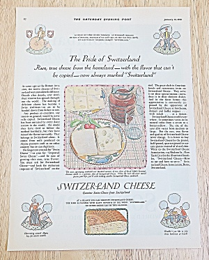 1929 Switzerland Cheese With Sandwich With Cheese (Image1)