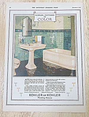 1927 Kohler Of Kohler With Bathroom