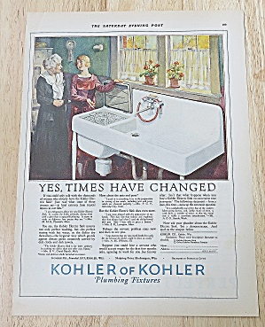1927 Kohler Of Kohler With Women Talking