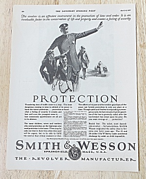 1927 Smith & Wesson With Officer & Kids