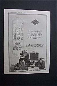 1918 Dual Ad: Diamond T Freight Car & Disston Saw (Image1)