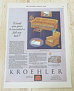 1928 Kroehler With Davenport Bed (Image1)