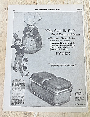 1924 Pyrex With Tommy Tucker