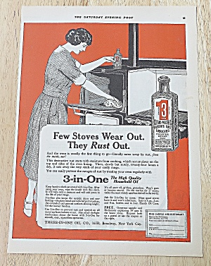 1922 3 In One With Woman Cleaning