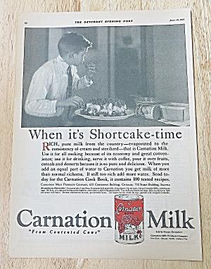 1922 Carnation Milk With Boy Eating (Image1)