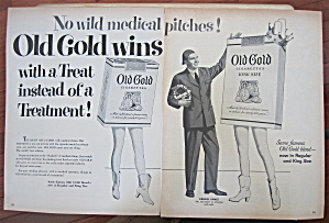 1953 Old Gold Cigarettes With Dennis James