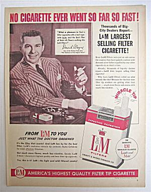 1954 L & M Cigarettes with David Wayne  (Image1)