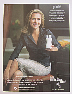 2005 Got Milk With Meredith Vieira