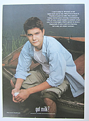 1999 Got Milk With Joshua Jackson