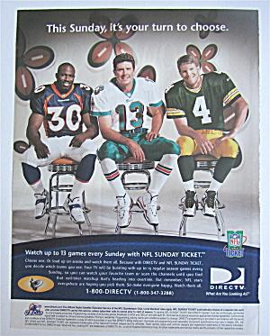 1999 DirecTV w/ Brett Favre, Dan Marino & David Bruton (Image1)