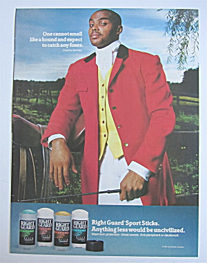 1992 Right Guard Deodorant with Charles Barkley (Image1)