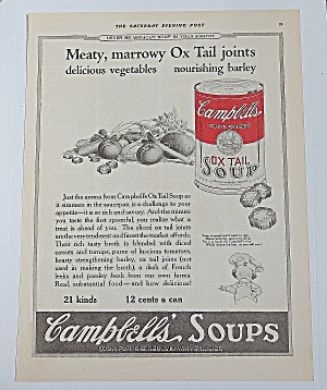 1922 Campbell Soup With Oxtail Soup (Image1)