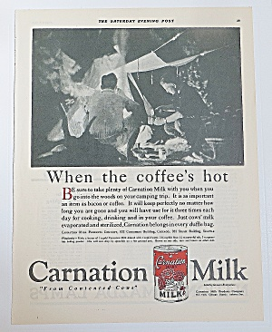 1922 Carnation Milk With Men Camping (Image1)