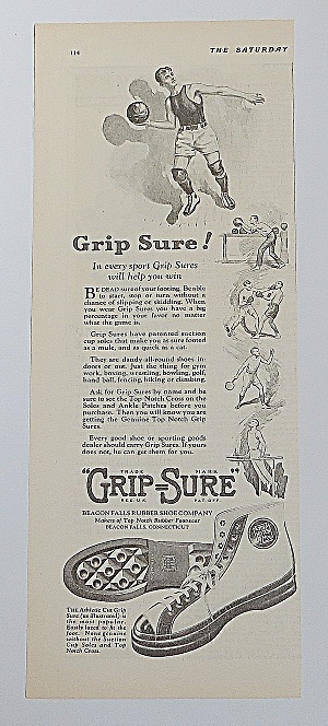 1923 Grip Sure With Boy & A Ball (Image1)