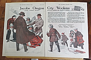 1923 Jacobs Wools With People In Snow (Image1)