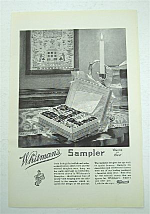 1922 Whitman's Sampler with Box of Candy  (Image1)