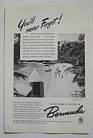 1948 Bermuda with a Bermuda Cove (Image1)