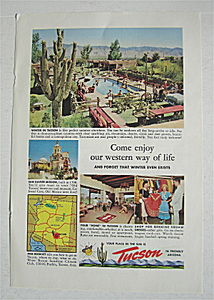 1955 Tucson With Western Way Of Life