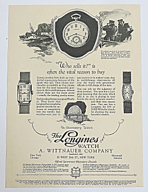 1926 Longines Watch With Watches (Image1)