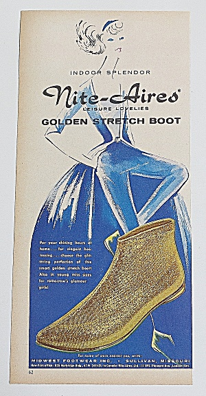 1963 Nite Aires Boot With Golden Stretch Boot