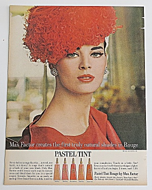 1963 Max Factor With Pastel Tint