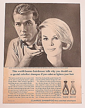 1963 Clairol Shampoo With George Masters