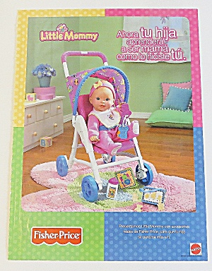 2003 Little Mommy With Baby Doll & Stroller