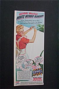 Vintage Ad: Oxydol Detergent & Nabisco Bran (Image1)