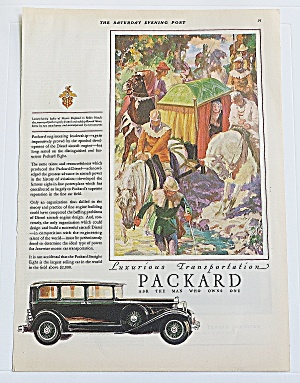 1930 Packard With Ladies Of England