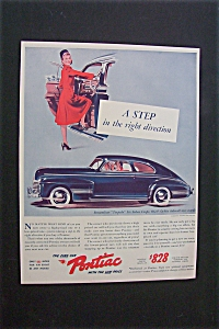 1941 Dual Ad: Pontiac Cars & Buster Brown Shoes (Image1)
