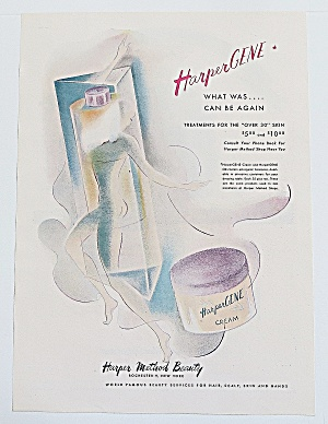 1946 Harper Gene Cream With Woman's Body