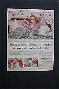 1941 Dual Ad: Woodbury Cold Cream & Lockheed