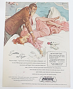 1948 Pacific Sheets With Man And Woman (Image1)