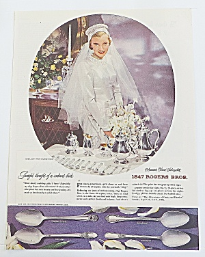 1948 1847 Rogers Bros. Silverplate With Bride