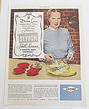 1950 Dow Plastics With Dione Lucas