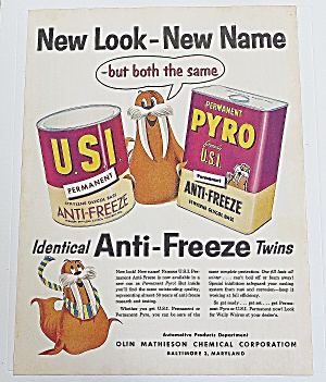 1955 USI/PYRO Anti Freeze With Seal (Image1)