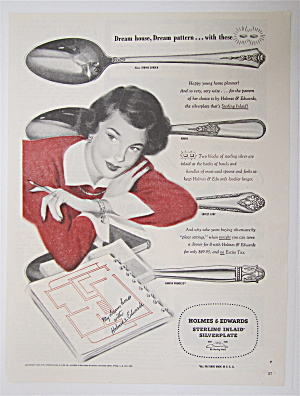 1950 Holmes & Edwards Silverplate w/ Woman  (Image1)
