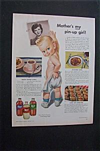 1944 Dual Ad: Karo  Syrup & Del Monte Foods (Image1)