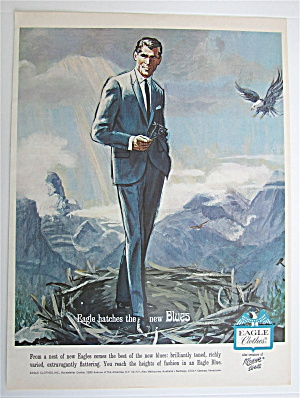 1964 Eagle Clothes With Man Wearing New Blues