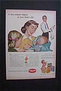 1951 Dual Ad: Pablum  Cereals  &  Tide  Detergent (Image1)