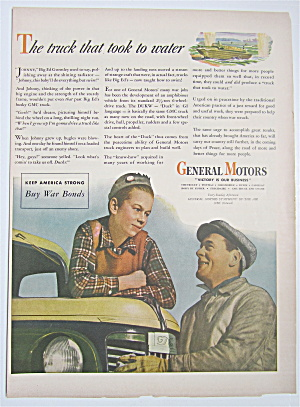 1944 General Motors With Man & Boy Talking