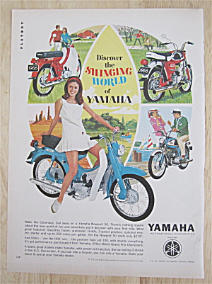 1966 Yamaha With Swinging World Of Yamaha