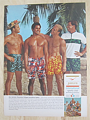1966 Jantzen Hawaiian Tights With Gifford, Hull & More