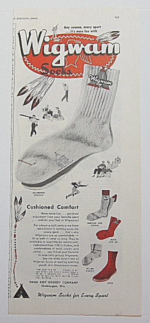 1952 Wigwam Socks With Athletic Socks (Image1)
