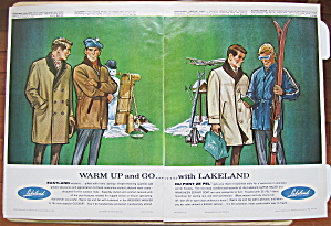 1964 Lakeland Sportswear With Men In Winter Coats