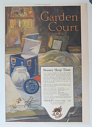 1919 Garden Court Cream With Jar Of Cream Opened
