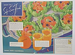1937 Sunkist Oranges with a Safe & Sane Fourth  (Image1)