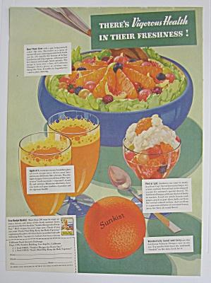 1937 Sunkist Oranges with Vigorous Health  (Image1)